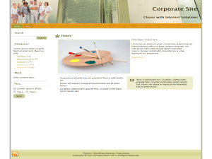 Free Corporate WP Theme